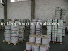 steel wire ropes cover all kinds of constructions and sizes(galvanized and ungalvanized)
