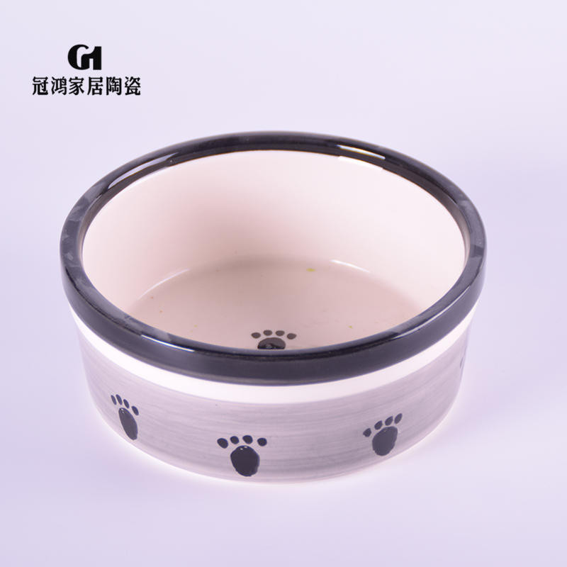 Ceramic pet bowls,ceramic cute dog bowls,dog water bowl,Hot Sales