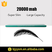 Portable Charger Powerbank Mini Size Ultra Thin USB Power Bank 20000mah for iPad Tablet