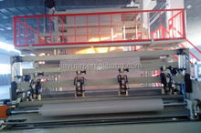 Non-asphalt high polymer self adhesive waterproof membrane coating making machine