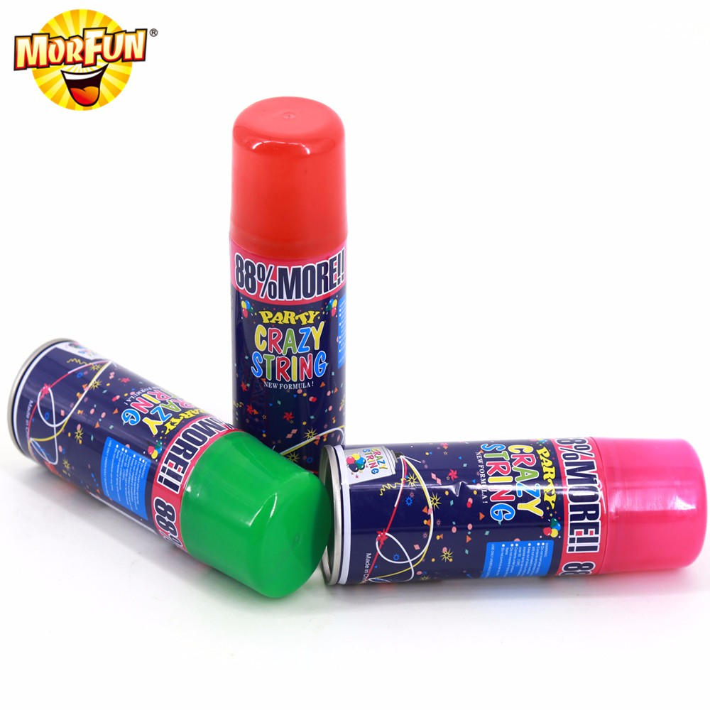 Milan Best Selling party stores online snow on christmas tree cheap silly string