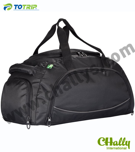 Sport shoes pocket expandable travel bag