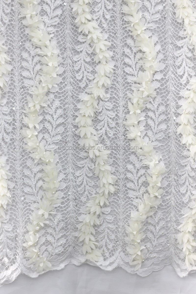 High quality custom handwork embroidery designs d flower