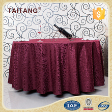 "Fancy 100% Cotton Decorative 132"" Round Table Cloth"