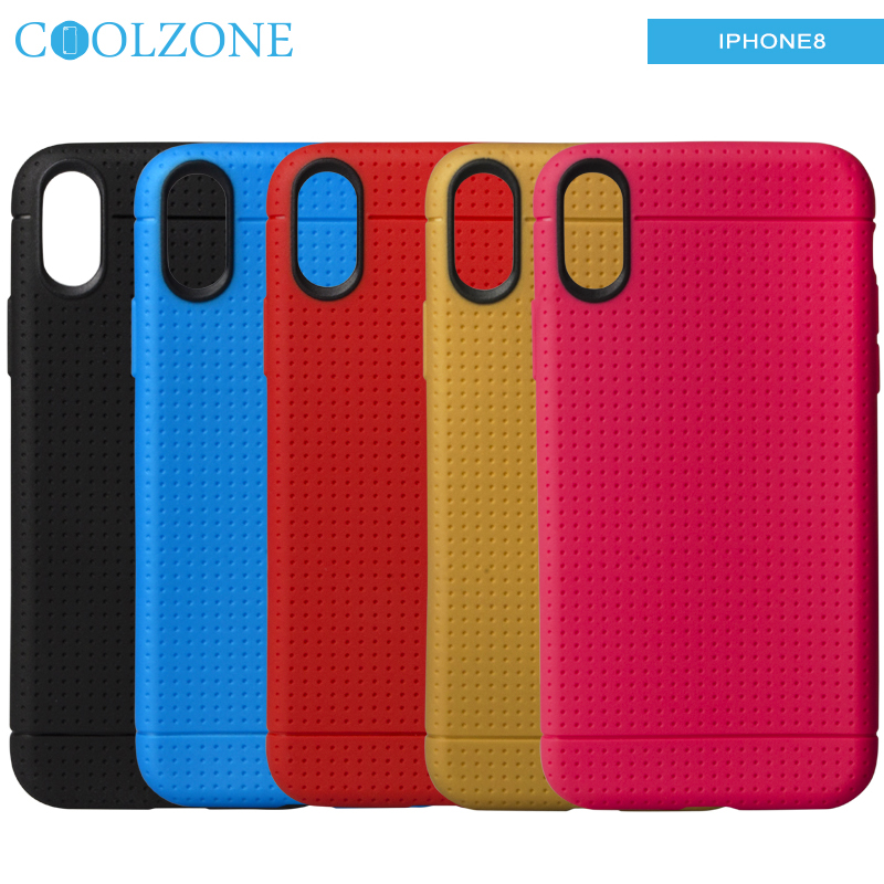 Factory Private Design Heat dissipation Function TPU Cell Phone Case For Iphone X Phone