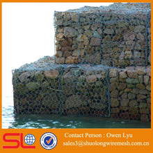 Very Popular in Israel Hexagonal PVC Coated Gabion wire mesh with FACTORY PRICE