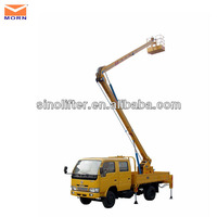 folding arm hydraulic lift up mechanism