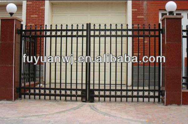 New type garden simple wrought iron gate designs