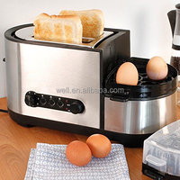 Breakfast Set Toaster With Egg Cooker