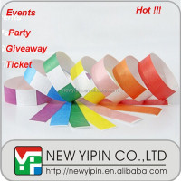 Tyvek Wristband Event Amp Party Item