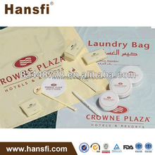 5 star hotel disposable plastic laundry bag