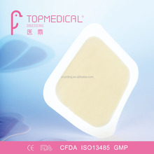 CE Approved Pressure Ulcer Hydrocolloid Wound Dressing, comparable with Duoderm