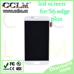mobile phone accessories for samsung s6 edge plus lcd display, lcd repair for s6 edge plus