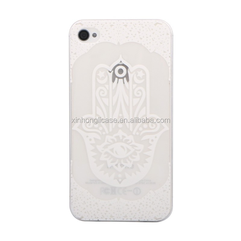 High Clear New Design Priting TPU Case For Iphone 4 for Iphone 4s