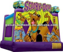 big fun Scooby Doo! bouncy castle, jumping castle, inflatable jump A2074