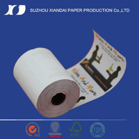 Customized Backside Printing Thermal Paper Roll 1