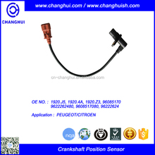 High Quality Auto Crankshaft position sensor 1920.J5 1920.4A 1920.Z3 96085170 9622262480 9608517080 96222624 PEUGEOT/CITROEN