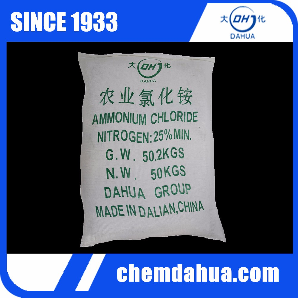 Names of Fertilizers, Qualified Ammonium Chloride Battery Grade Specification