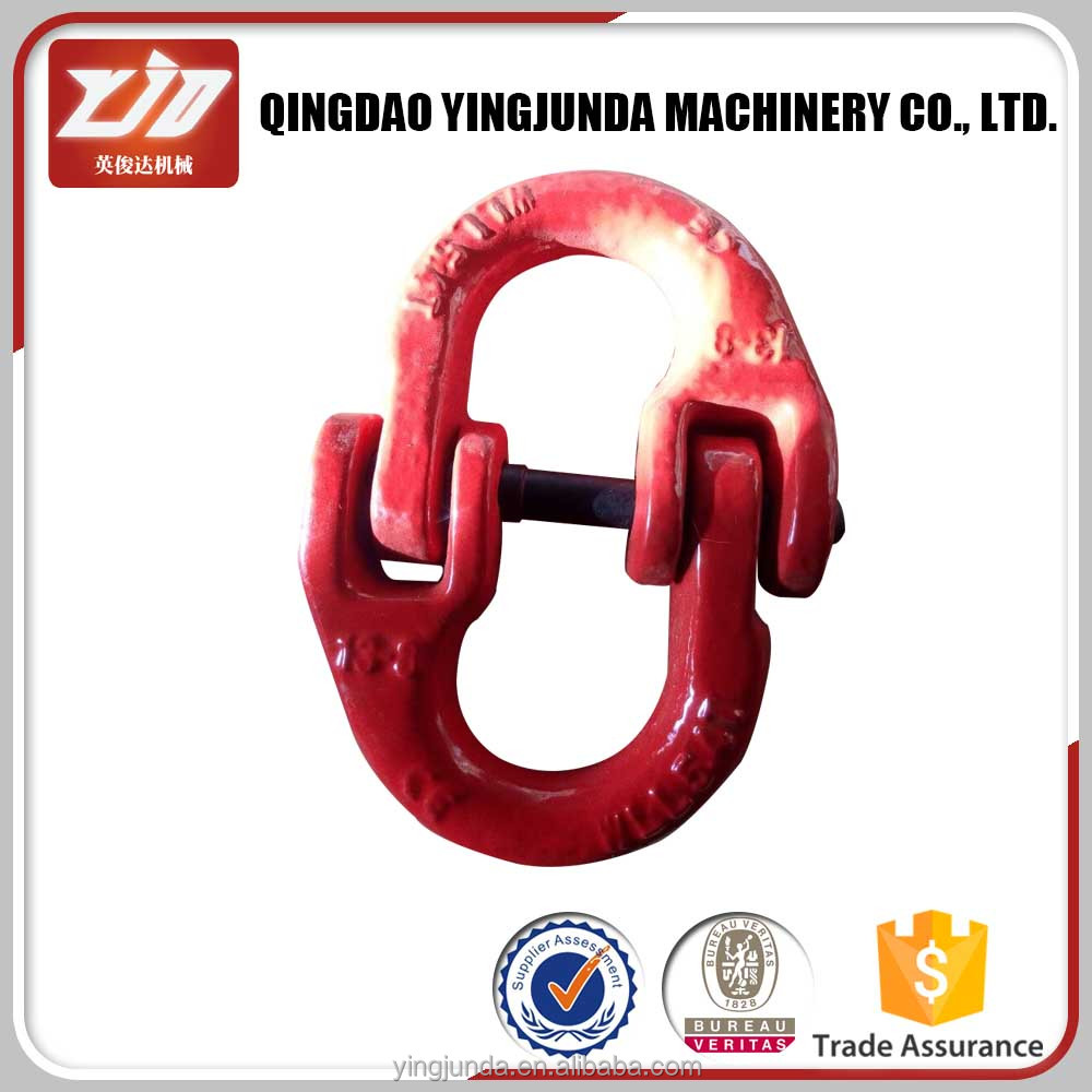 alloy steel european type g 80 connecting chain links