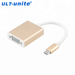 USB Type C Male to VGA Female Converter Adapter