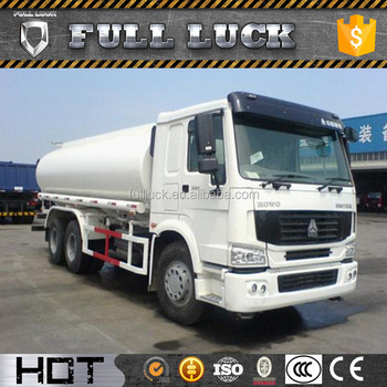 SINOTRUCK brand tanker water truck for sale