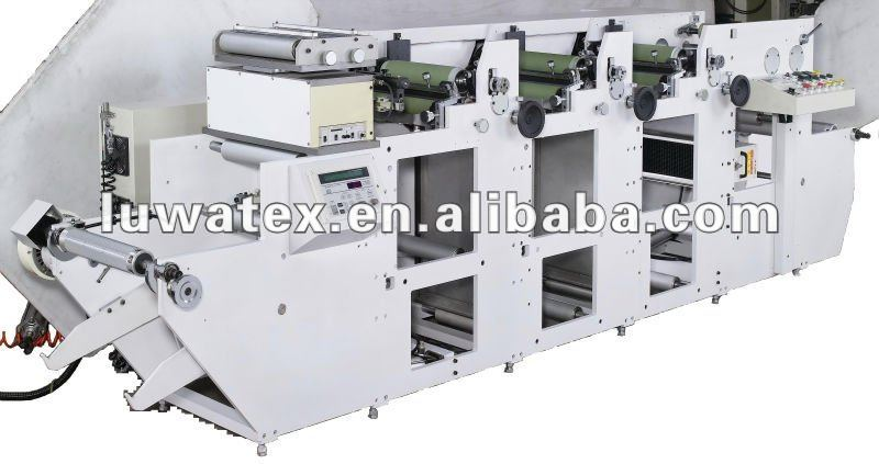 Die cutting Printing & Rewinding Machine