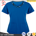 Hot sale comfortable material medical scrubs nursing uniform