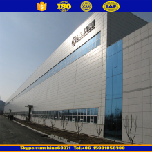 prefabricated h steel beam workshop building