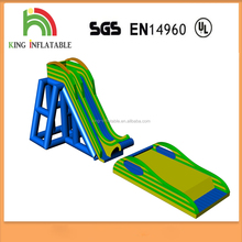 Water Sport New Exciting Inflatable High Speed Flying Slide Jumper