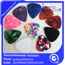 new image blank pearl celluloid tin guitar picks