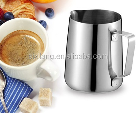 350ml 120Z stainless steel milk steam measuring picter milk jugs