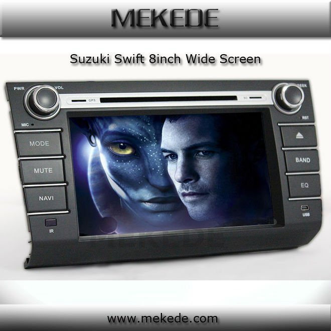 Special car audio for suzuki swift with DVD, GPS,BT,ATV,IPOD,PIP all functions