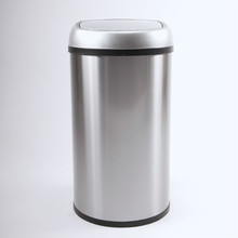 Round Stainless Steel Intelligent Home Used Recycling Bin Color Code