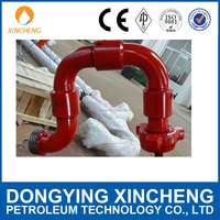 High Pressure Swivel Joint/API oil drilling equipment Elbow and Union in manifold Oil and Gas