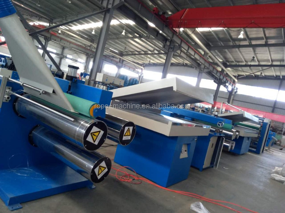 automatic pp ribbon making machine
