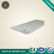 PVC modern design ceiling panel for roof light and kcitchen cabints building materials