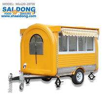 CE ice cream machine/donut hospital food carts with strong JACK