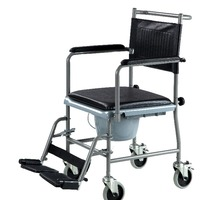 Shower Wheelchair Commode Wheelchair Wheelchair With