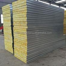 Insulated interior wall Fiber composite panel glass wool sandwich panel