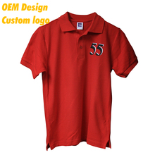OEM manufacturers Promotion with logo 100% cotton Short Sleeves men Polo T Shirt