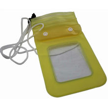 Waterproof Case for iPhone4 4S Made of PVC Material Size at 165X110mm
