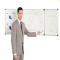 Jiangsu wall mounted folded whiteboard with magnets120*400cm