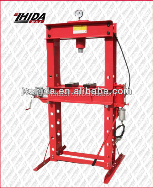 Air/Hydraulic 50T Heavy Duty Shop Press Machine for Sale
