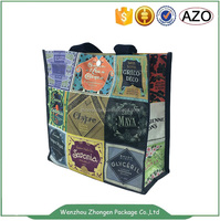 pp woven shopping bag eco-friendly pp woven bag