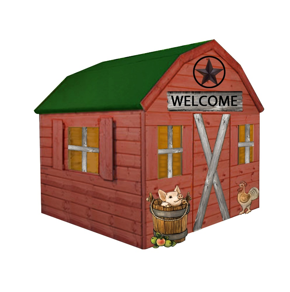 Wooden playhouses for sale indoor and outdoor use indoor for Beli kitchen set