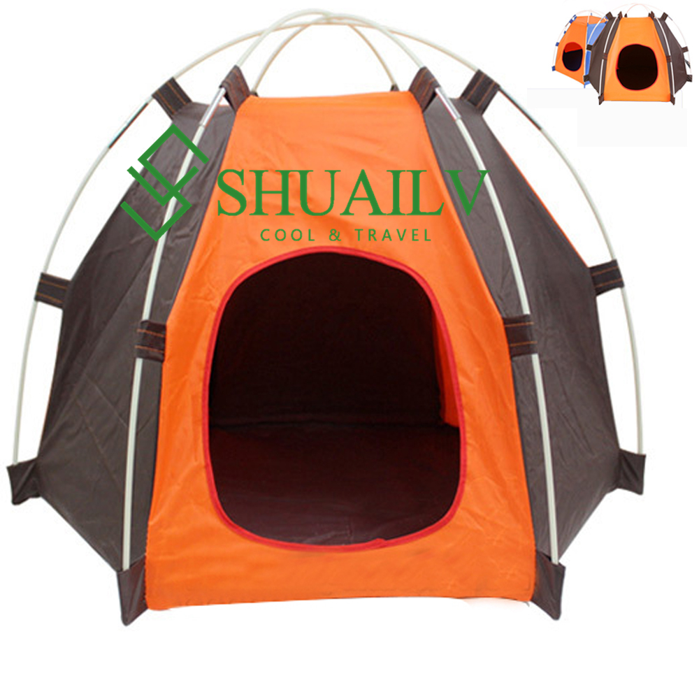 Pet Products For Dogs Tents Indoor Sleeping Playing Dog Basket Cages Puppies Home Tent