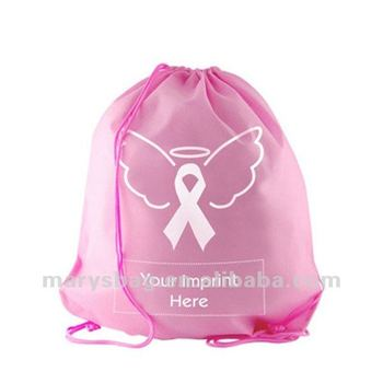 Breast Cancer Awareness Reusable Backpack