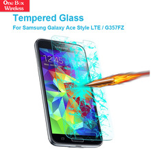 Anti Drop Shock Film Best for Samsung Galaxy Ace Style LTE /G357FZ/Ace 4 Style 4.3 Tempered Glass Holographic Screen Protector