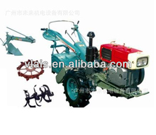 12HP Power Tiller Trailer Farm Walking Tractor DF-12 Diesel Tractor Factory price