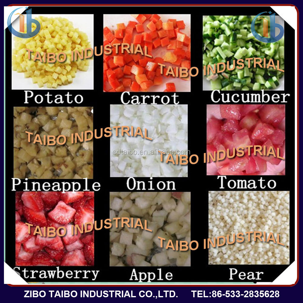 Potato dicer for other type fruit or vegetable dicing machine